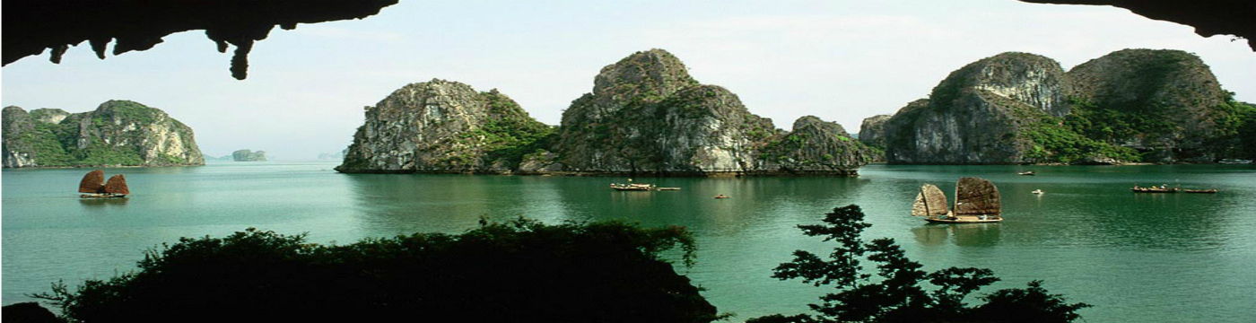Halong bay natural heritage in Vietnam