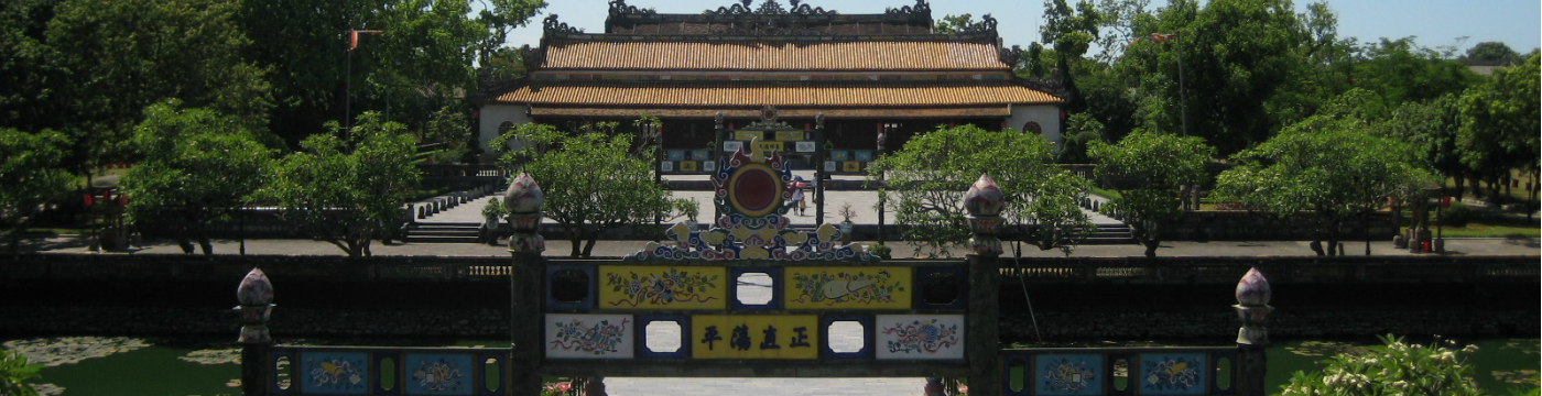 Hue castle and citedal of Nguyen's dynasty