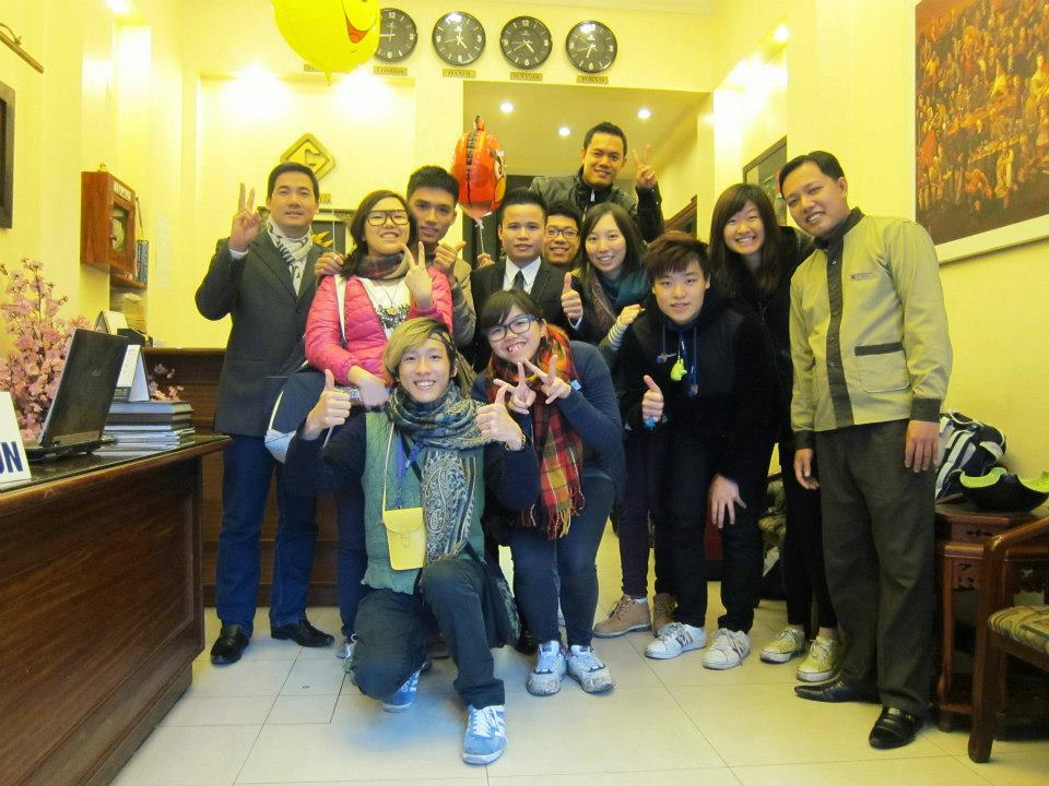 Happy & enjoyable guests from Hong Kong with Window Travel
