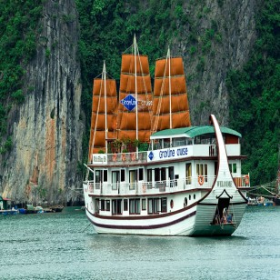 Hanoi city and Halong bay with luxury Grayline Cruise